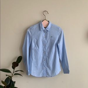 Vineyard Vines Light Blue Classic Button Up Shirt